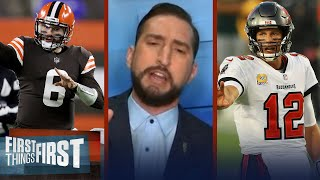 Nick Wright lists players with the most to gain from a Super Bowl LV win | NFL | FIRST THINGS FIRST