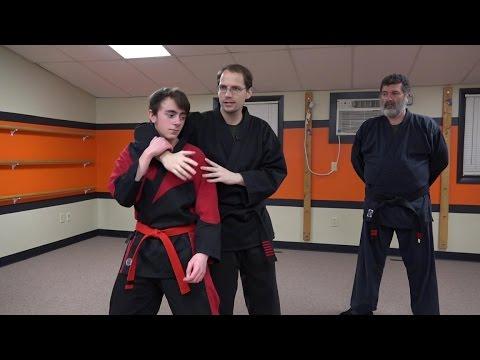 Kenpo Karate- Escape From Death Part 1