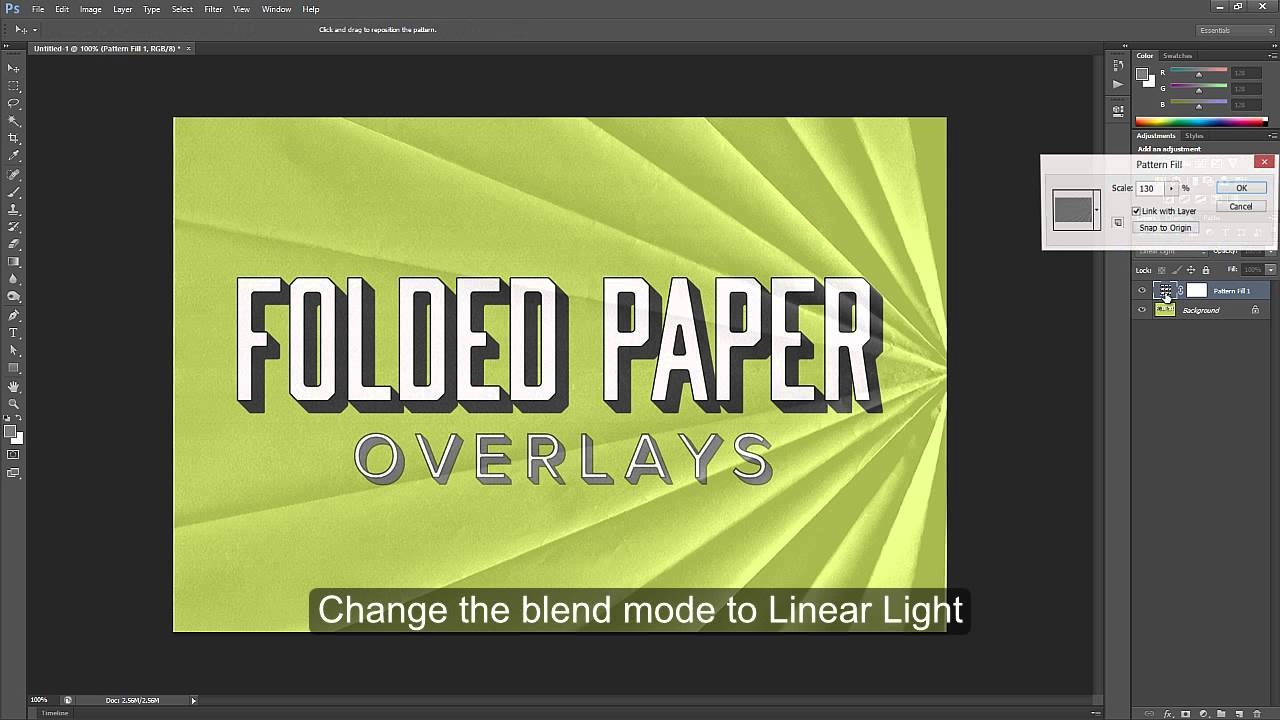 Free Download: 5 Folded Paper Overlay Textures - Photoshop