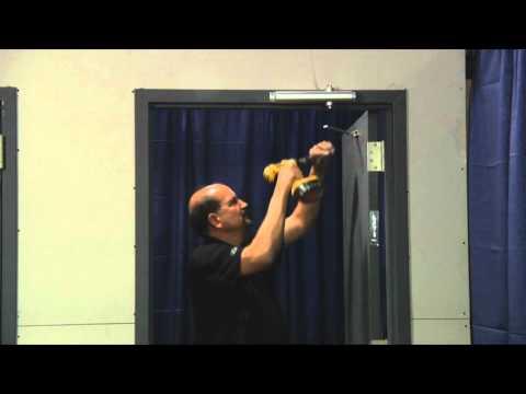 How To Install A Door Closer Top Jamb Installation Vi