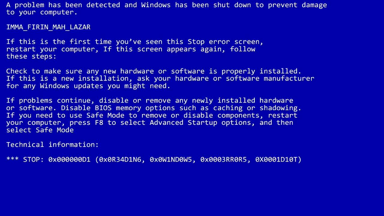 Что за глюк при запуске Windows XP