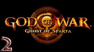 God of War: Ghost of Sparta прохождение на геймпаде PSP версия часть 2 Кратос похож на свою мать