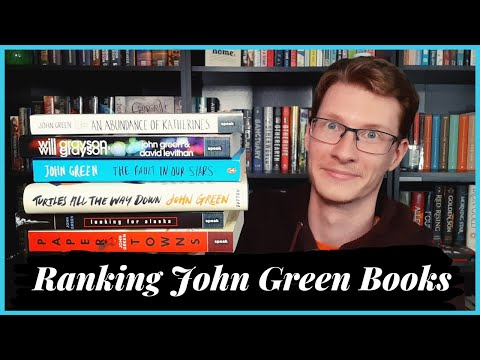 Ranking John Green Books from Worst to Best