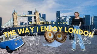 ENG) 런던에서 페리타고 케이블카 타며 즐긴 하루⛴ …
