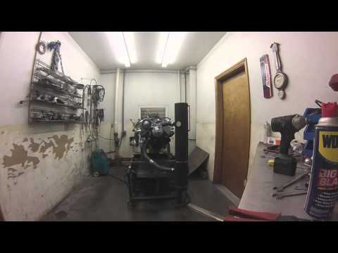 Engine Dyno 1 no air cleaner