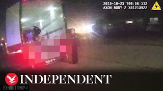 Essex lorry deaths: CCTV shows moment police discover bodies in trailer