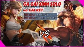 Lần Đầu Giả Vờ CHƠI NGU để GẠ KÈO TÁN GÁI XINH và cái kết Không Tưởng :))Solo RAZ vs Qi  ĐỆ TỨ LQM