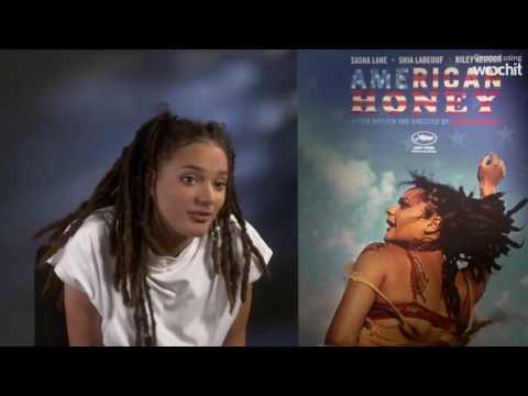 American Honey star Sasha Lane