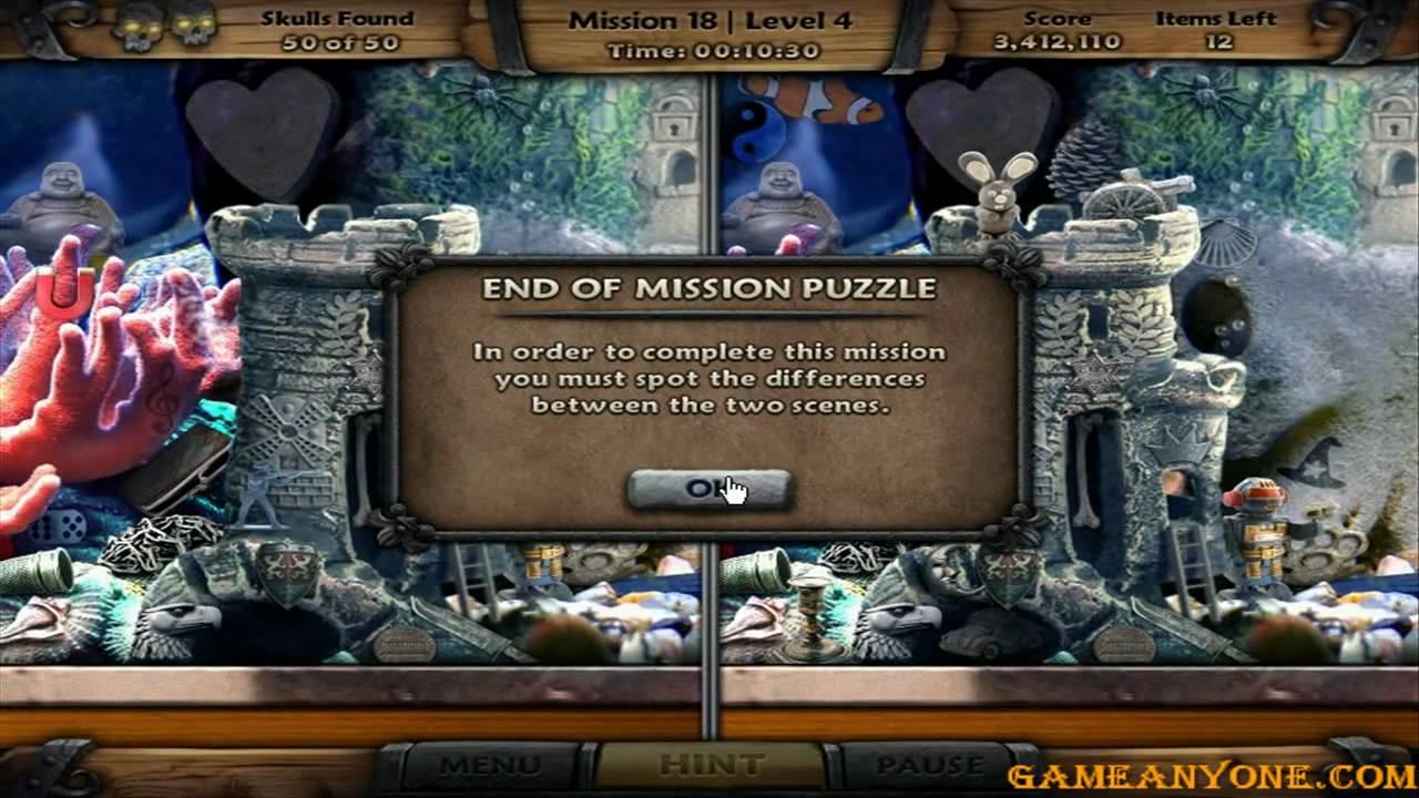 cg amazing adventures the caribbean secret pc hd mission 18 level 4 aquarium youtube