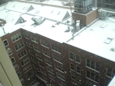 Neve em Chicago /Heavy Snow in Chicago