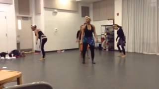 Coyaba dance practice 1/3/2015