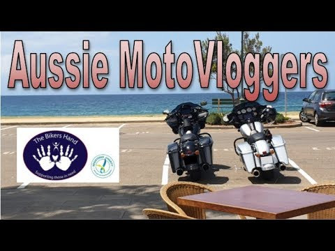 Australian Motovloggers And Charity - Harley-Davidson Street Glide Special