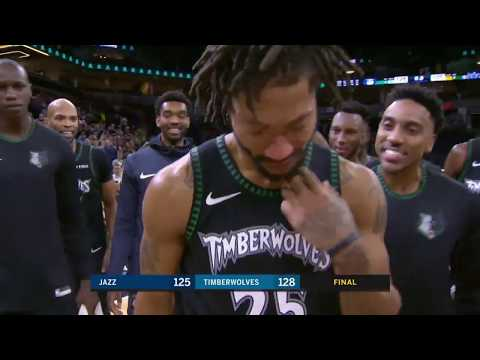 Utah Jazz vs Minnesota Timberwolves | October 31, 2018