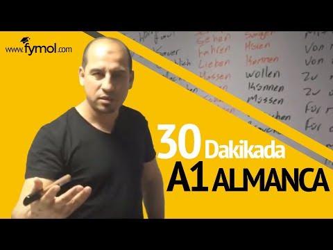 30 DAKİKADA A1 ALMANCA (DÜNYANIN EN İYİ ALMANCA ÖĞRETMENİ)