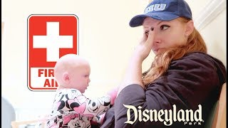 SEEING A DOCTOR IN DISNEYLAND... :(