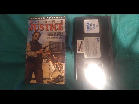 Opening & Closing To Blind Justice 1994 VHS