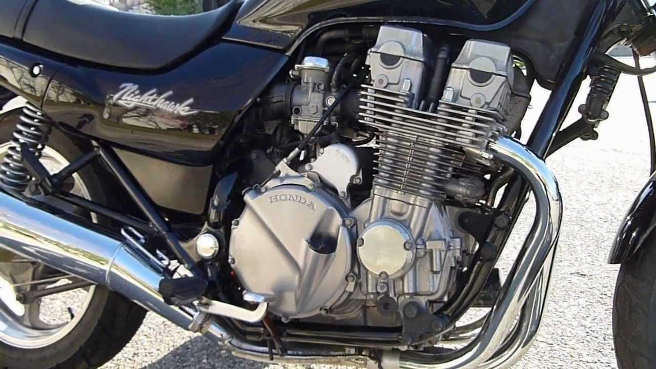 1993 Honda CB 750 Nighthawk - YouTube