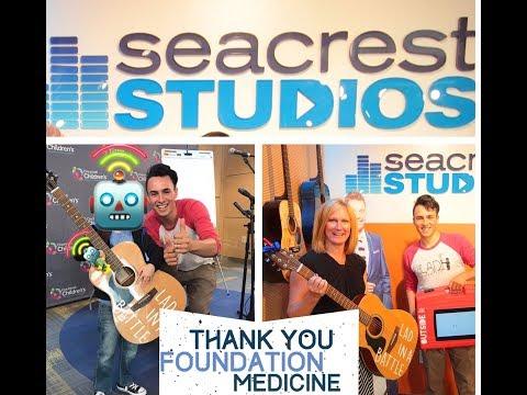 Bringing music & cartoons to Ryan Seacrest Studio Ohio