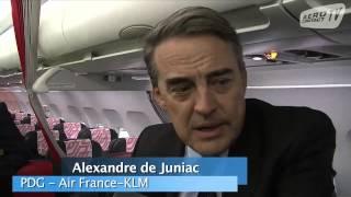 Décollage de la nouvelle offre moyen-courrier d'Air France