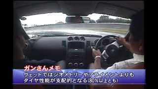 Z33 TIRE TEST  @ Motoharu Kurosawa(Gan san) ガンさんによるZ33タイヤテスト