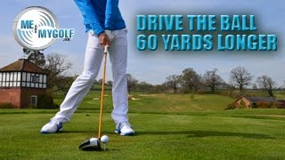DRIVE THE GOLF BALL 60 YARDS LONGER