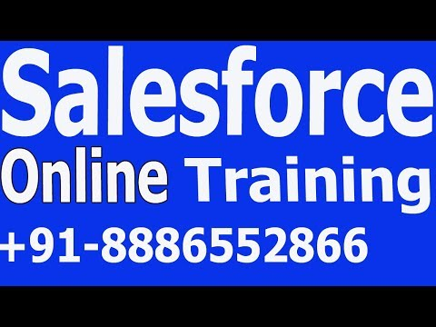 Salesforce CRM Online Training Videos 1 For Beginners 2020 WhatsApp +91-8886552866