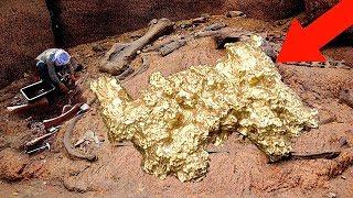 10 Самых Больших Самородков Золота в Мире