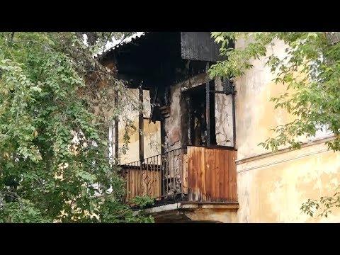 В Ангарске сгорело две квартиры