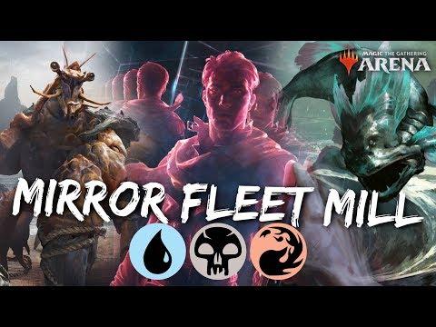 MTG Jeff: Mirror Fleet Mill – The New STUPIDEST Mill Deck