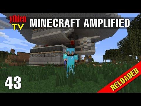 Minecraft Amplified RELOADED 43 - Xây Dựng Lò Đào Tạo Hot Girl #1