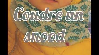 Apprenez à coudre un snood facilement et rapidement avec des chutes de tissus. Cette techique permet de faire des snoods pour toute la famille : bébé, enfant, ...