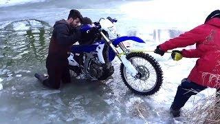 Epic Water Crossing Fails Compilation | Bikes vs Water