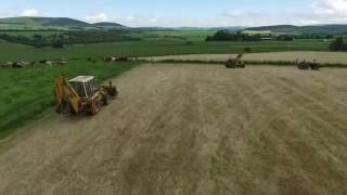 Doug's Tractor Run Old tractors/diggers (Scotland)