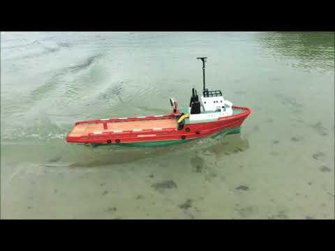 "Supply Vessel: ""Granit"" RC Model"