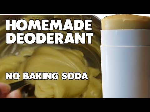 DIY | Homemade Deoderant | No Baking Soda
