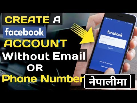 How to create Facebook account without Email I'd or phone number By Santechchannel,In NEPALI