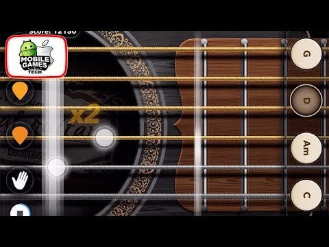 Real Guitar Android iOS Gameplay & Trailer - Play Chords, Tabs ...