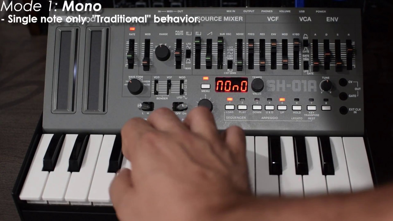 New Coffee Cups Synth Demos Updates >> Roland Sh 01a Boutique Synthesizer Quick Demo Youtube