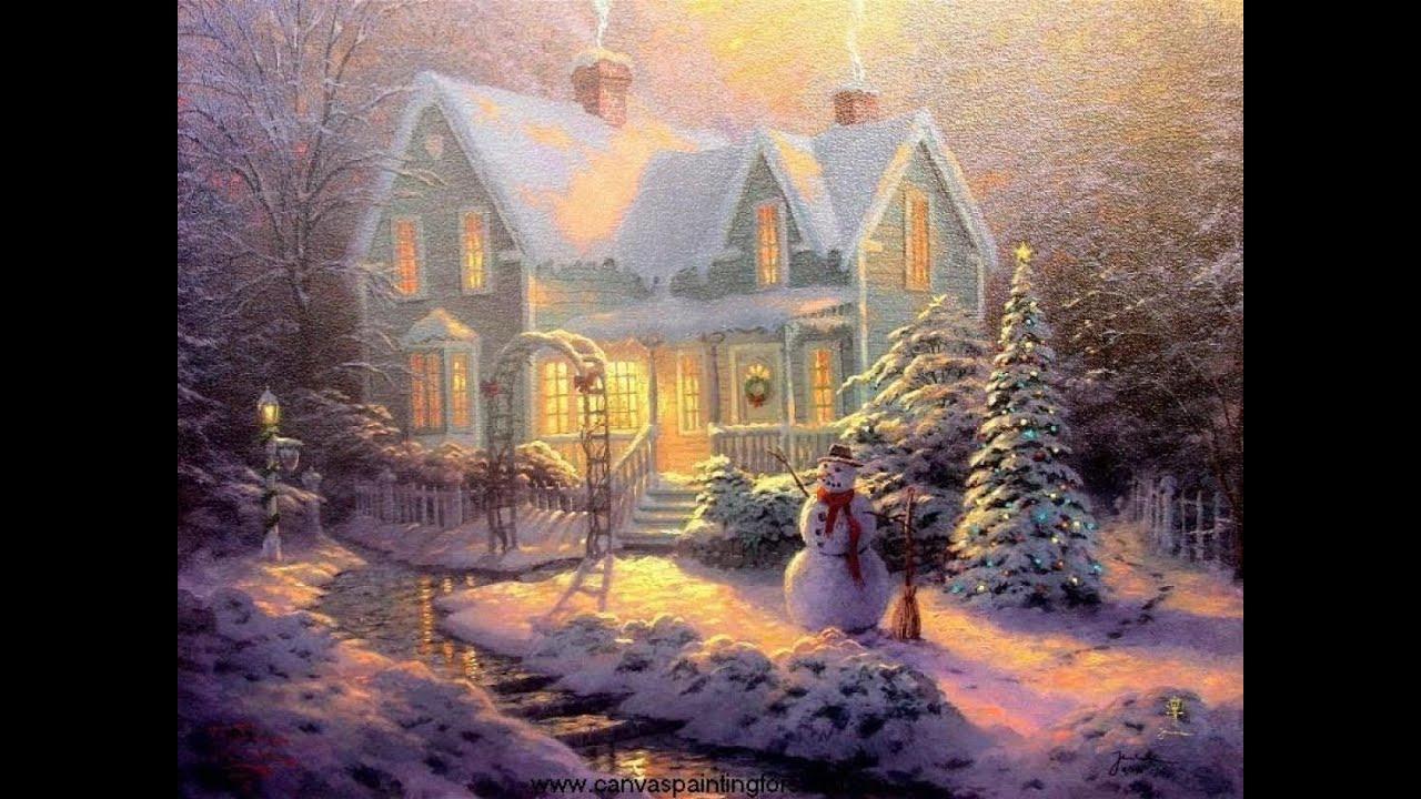Thomas Kinkade Christmas Cards 2013