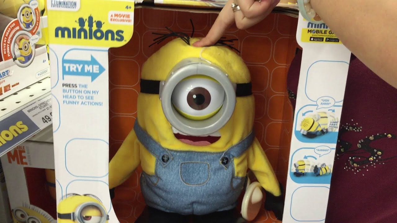 Minion Camera App : Tumblin stuart minion toy review unboxing from the movie minions