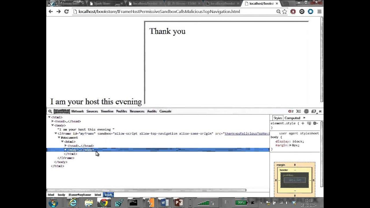 HTML5 JS Security - maty siman