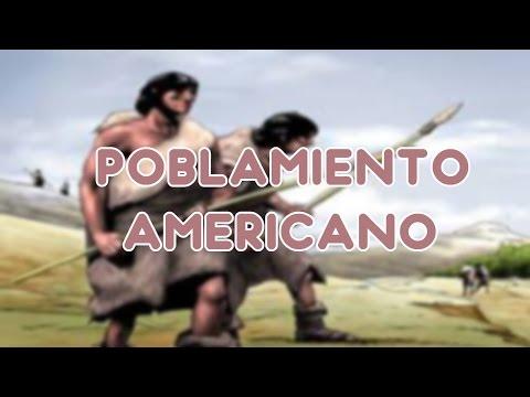 POBLAMIENTO AMERICANO | PERU LA HISTORIA