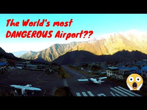 Takeoffs and Landings - Tenzing-Hillary Airport  - Lukla Nepal
