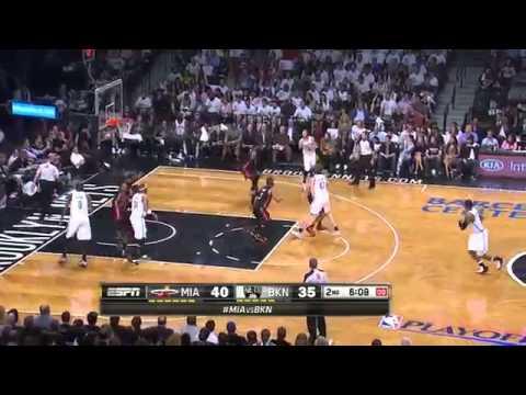 Miami Heat vs Brooklyn Nets Game 3 Highlights   NBA Playoffs 2014