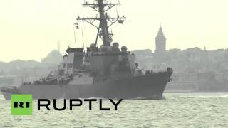 USS Donald Cook enters Black Sea amid Ukraine tensions