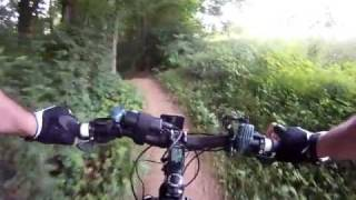 mountain biking at blue marsh lake pt 1