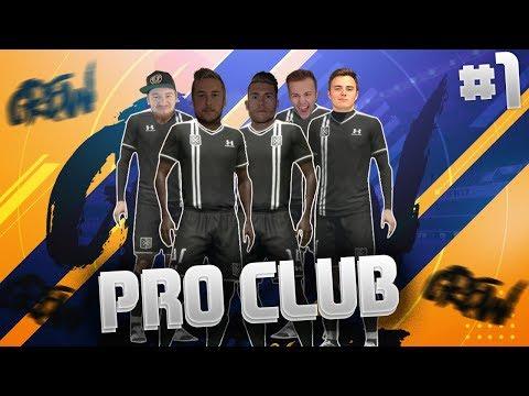 FIFA 17: CREW Pro Club #1 😂  Start einer NEUEN Serie 🔥
