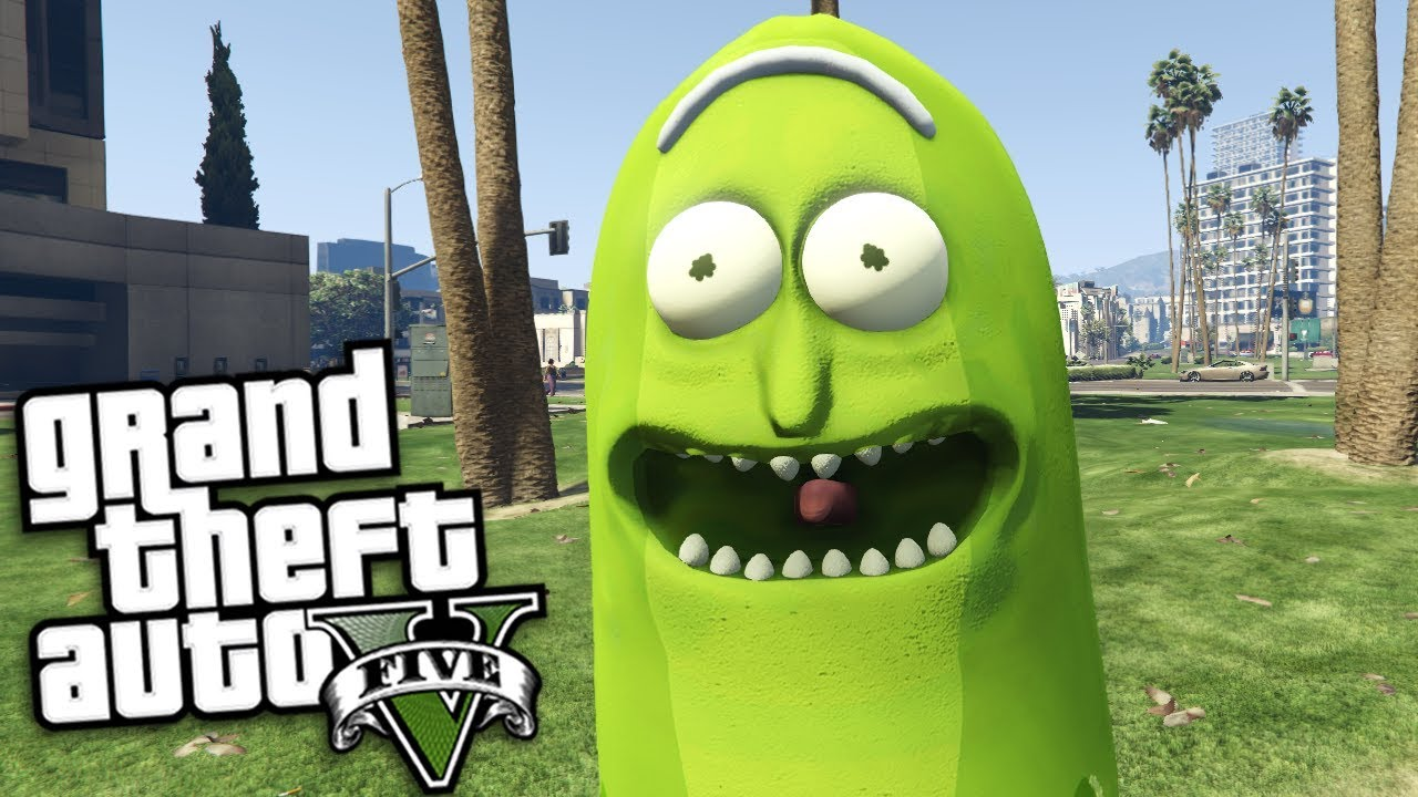 RICK AND MORTY IN GTA 5! - GTA 5 Mods Gameplay - wp_022