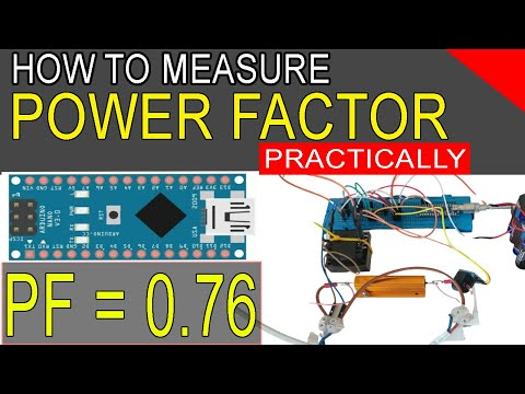 How To Measure Power Factor Using Arduino | Practically