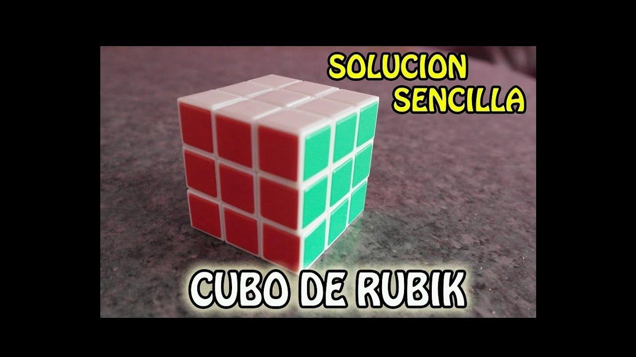 Como resolver el Cubo de Rubik - Facil y Sencillo (Paso a Paso ...